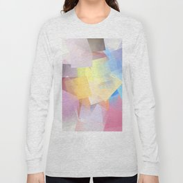 Cubism Abstract 189 Long Sleeve T-shirt