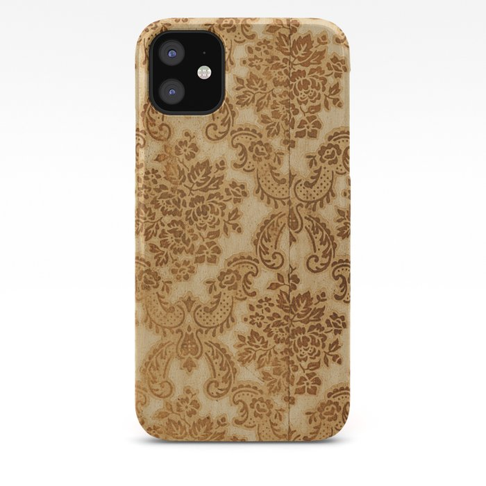 Vintage Wallpaper Iphone Case By Shaunlowe
