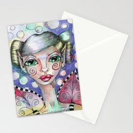 Bubble Fairy Stationery Cards