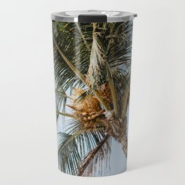 Tropical Palm Tree Travel Mug