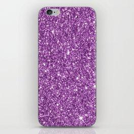 Sparkling glitter print D iPhone Skin