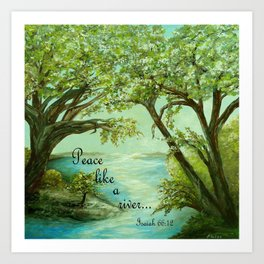 Peace Like a River Art Print