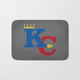 Kansas City Sports Red & Dark Blue Bath Mat