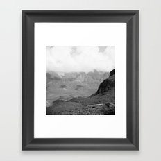 Wilde Kreuzspitze Framed Art Print