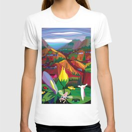 Mill Valley to Zen Gulch T-shirt