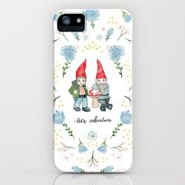 Adventure Gnomes iPhone Case