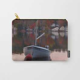 Sail Boat In Fall Carry-All Pouch