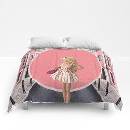 Barbie girl Comforters