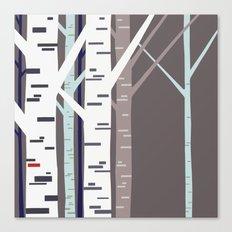 birch trees Canvas Print