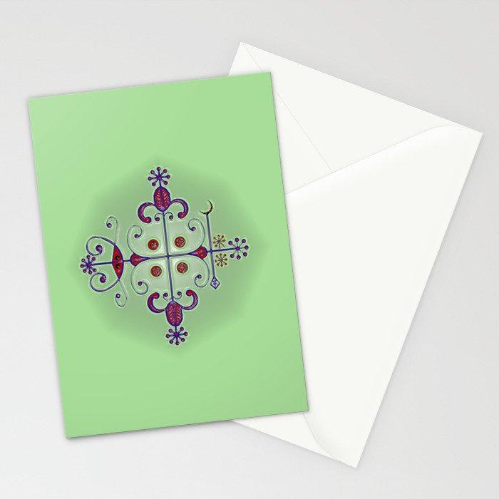 Voodoo Symbol Papa Legba Stationery Cards