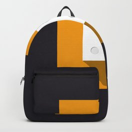 """Dice """"five"""" with long shadow in new modern flat design Backpack"""