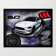 2018 Mustang Canvas Print