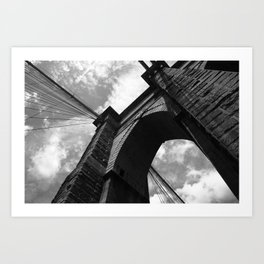 Brooklyn Bridge - New York City 2009 Art Print