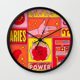 Aries Wall Clock