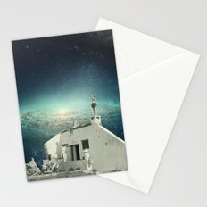 We Don't Belong Here Stationery Cards