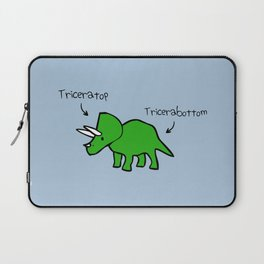 Triceratops Tricerabottom Laptop Sleeve