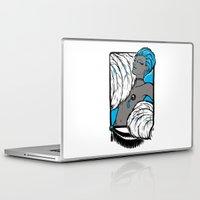 burlesque Laptop & iPad Skins featuring Burlesque by Brit Austin Illustration