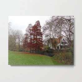 Colorful Park Metal Print
