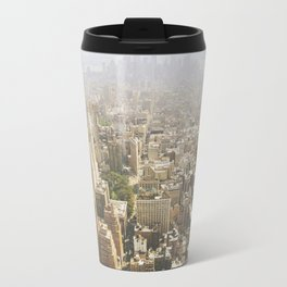 Hazy City - Manhattan Travel Mug