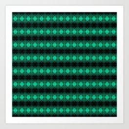 Oregon Green Art Print