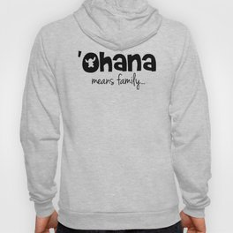 Ohana means family even for Stitch Hoody