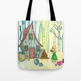 House of Hansel and Gretel Tote Bag