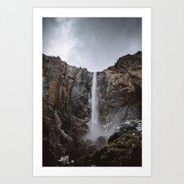 Bridalveil Fall Yosemite Art Print