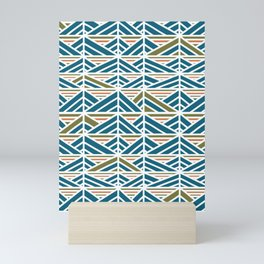 Retro Chevron Mini Art Print