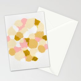 Gold pink Stationery Cards