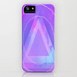 Galaxy triangle iPhone Case