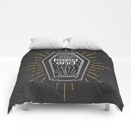 Dead end... (Black ver) Comforters
