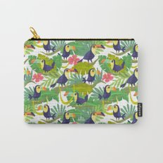 Toucan Paradise Pattern Carry-All Pouch