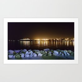 Light over the water Art Print
