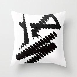 Sporty Lady Throw Pillow