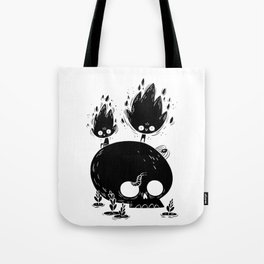 Fuegos Fatuos (black) Tote Bag