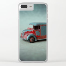 Toy Van Clear iPhone Case