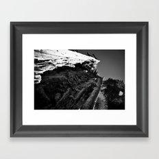 Under The Bark Framed Art Print
