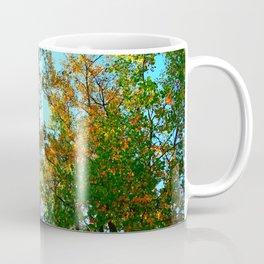 Bright Green Trees.  Coffee Mug