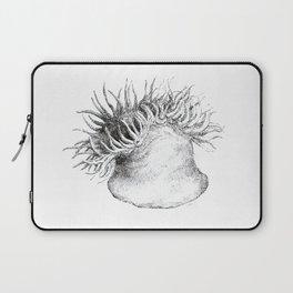 sea anemone  - grey Laptop Sleeve