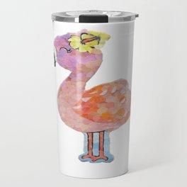 """"""" Flamingo Cutie """" Travel Mug"""