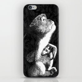 Macaque iPhone Skin