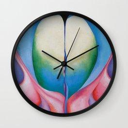 SERIES 1, NUMBER 8 - GEORGIA O'KEEFFE Wall Clock
