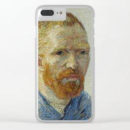Self Portrait as a Painter Clear iPhone Case