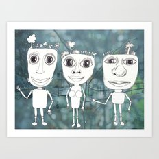 i'm not sure who you are Art Print