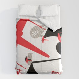 Beat The Empire With A Red Squadron Comforters