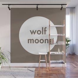 Wolf Moon Wall Mural