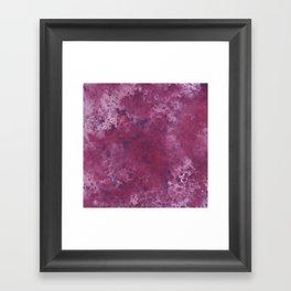 Colour Blotch Framed Art Print
