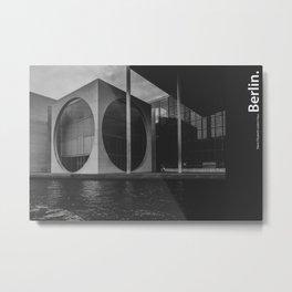Future is Today. Berlin Metal Print