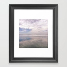 Reflection on the Water Framed Art Print