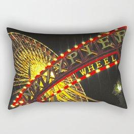 Ferris Wheel at Navy Pier Rectangular Pillow